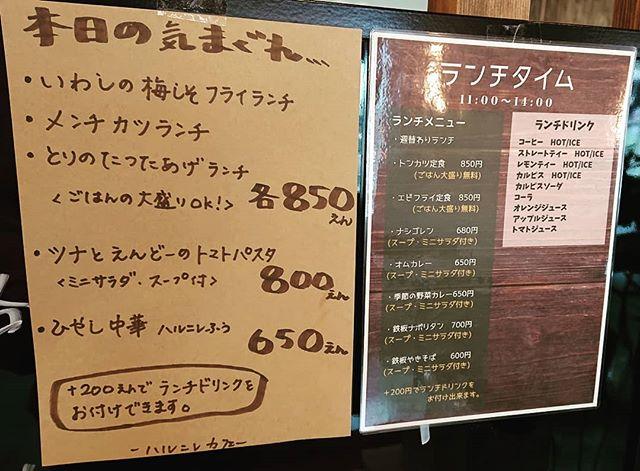 6/1(土)本日のおひるごはん